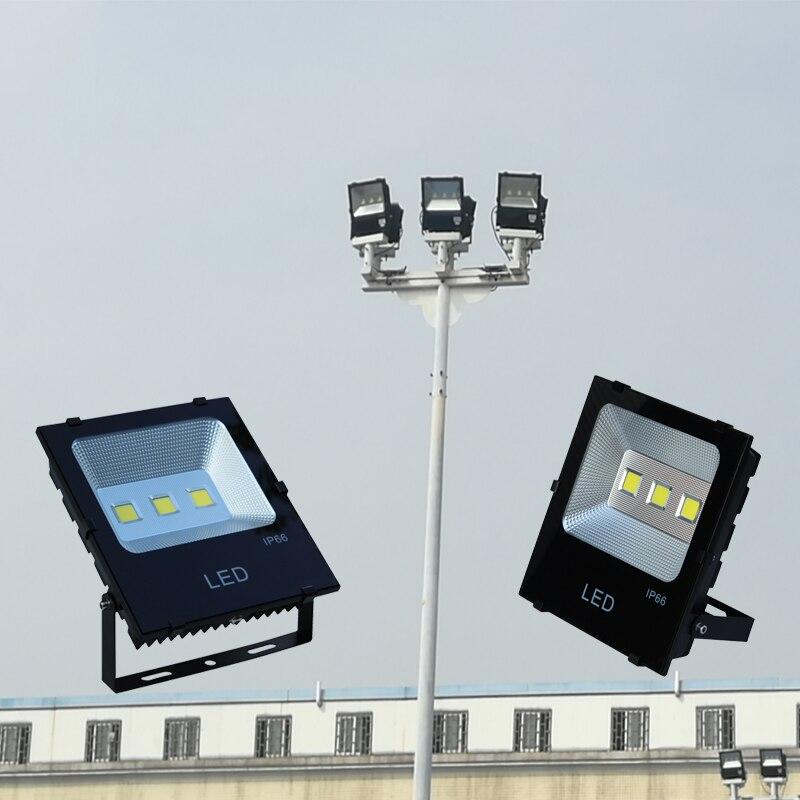 Бесплатная доставка Светодиодный прожектор 10w20w30w50w100w, открытый сад 100 Вт прожектор, высокое качество нового удара прожектор