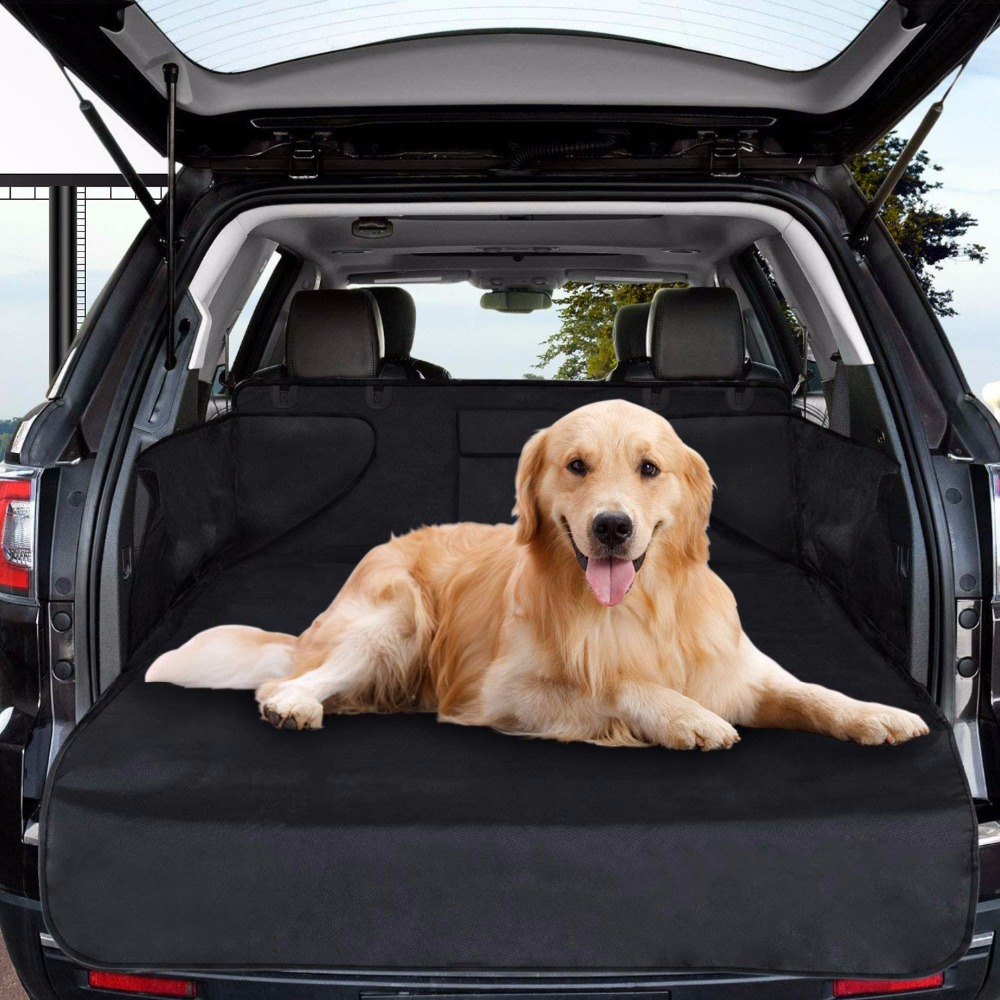 Dog cat seat cover universal waterproof scratch proof dog cat carrier bag pet car boot liner