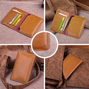 Image 4 - Premium Genuine Leather Passport Holder Passport Cover Russia Case for documents Travel Wallet