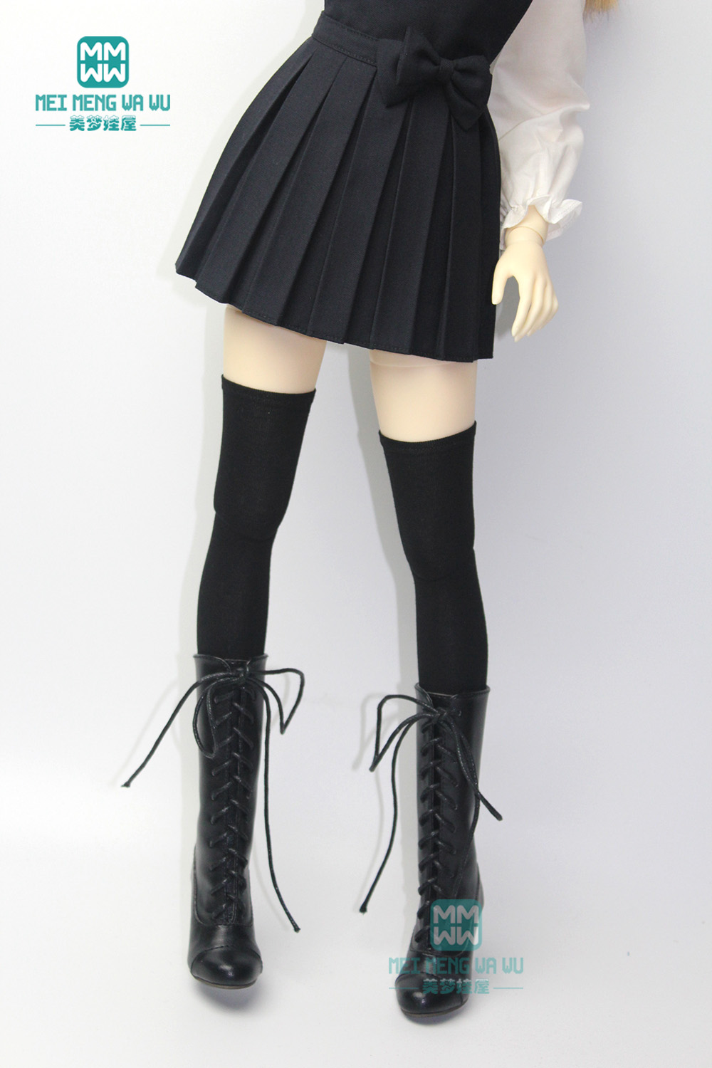 <font><b>BJD</b></font> accessories fashion black stockings for 27-60cm <font><b>1/3</b></font> 1/4 /1/6 <font><b>BJD</b></font> DD <font><b>SD</b></font> doll <font><b>clothes</b></font> image