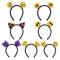 Novo 2016 Moda Hot 7 Estilo Emoticon Emoji Bonitos Headband Hairpin Grampo de Cabelo Banda Headwear Kid