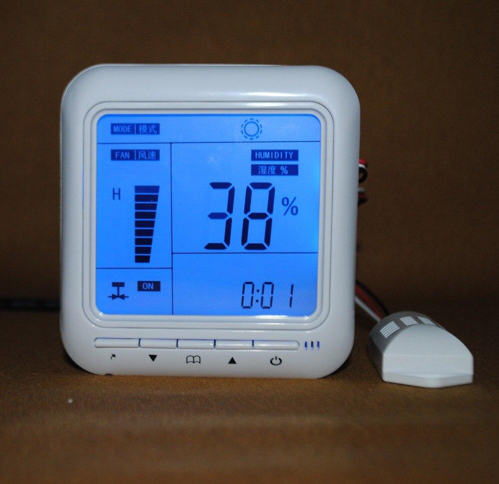 AC220V5A Relay contact capacity Dehumidification and humidification controller with Humidity sensorAC220V5A Relay contact capacity Dehumidification and humidification controller with Humidity sensor