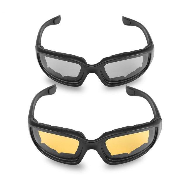 Nova motocicleta óculos de proteção à prova de vento dustproof óculos de olho ciclismo óculos de proteção esportes ao ar livre óculos quentes 1