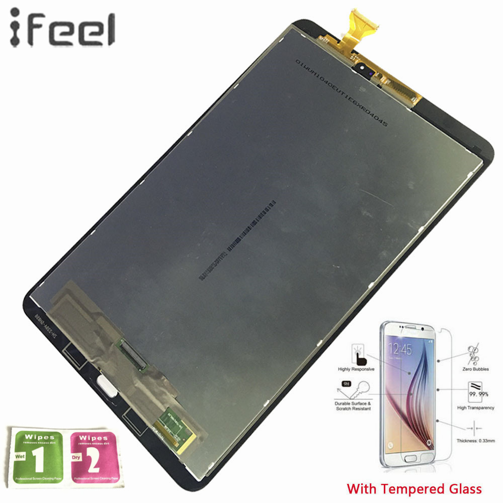 IFEEL 100% Test Assembly Panel Repair For Samsung GALAXY Tab A 10.1 T580 WiFi T585 3G Sensors LCD Display Touch Screen DigitizerIFEEL 100% Test Assembly Panel Repair For Samsung GALAXY Tab A 10.1 T580 WiFi T585 3G Sensors LCD Display Touch Screen Digitizer