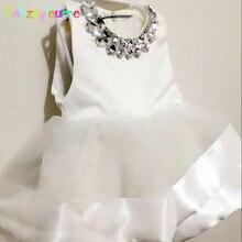 babzapleume 0 6Months Summer Newborn Baby Girls Christening Gowns Dresses Infant Tutu Baptism Dress For Party