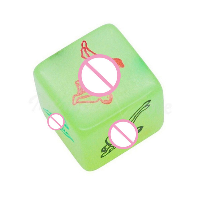 Sex Toys For Couples Erotic Foreplay Noctilucent Dice sex Position Guide  Tools for sale Fetish Womanizer Adult Toys FB