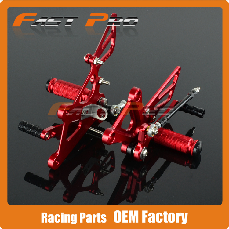 CNC Motorcycle Adjustable Billet Foot Pegs Pedals Rest For HONDA CBR250 CBR 250 2011 2012 2013 2014 2015 11 12 13 14 15 motorcycle accessories throttle line cable wire for honda cbr250 cbr 250 cbr19 mc19