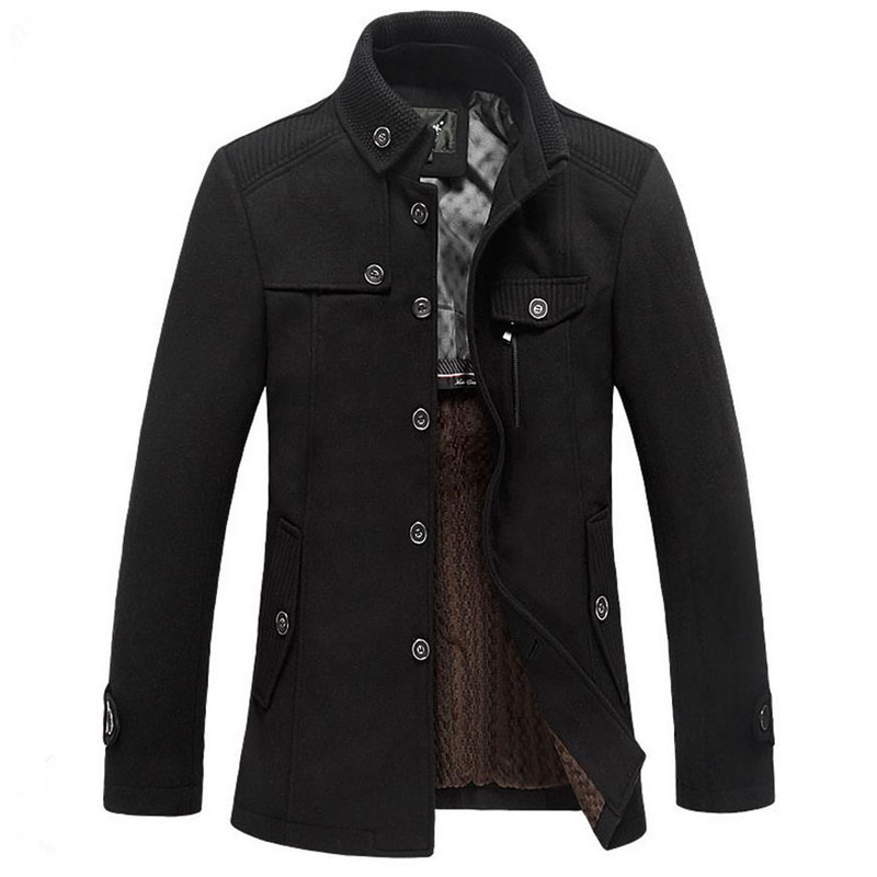 2017 autunno Caldo e l'inverno di alta qualità giacca cuciture cappotto casuale giacca di lana spedizione gratuita