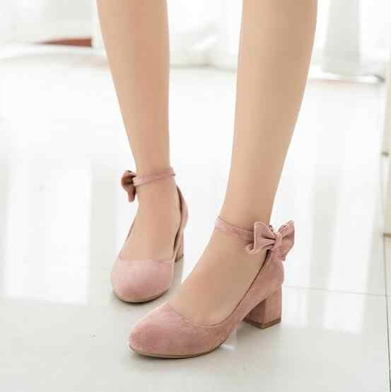 新しい子供ピンクハイヒールの靴の女の子王女の弓ベージュ春/秋の革の靴子供ドレス靴 02C