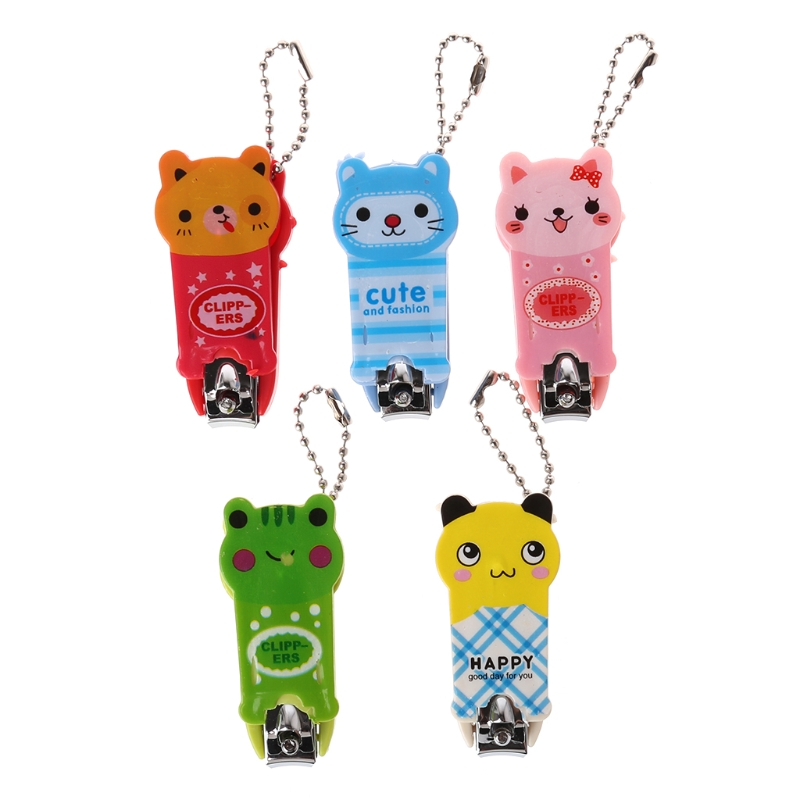 2018 Baby Safety Nail Clippers Scissors Children Cartoon Cutter Infant Fingers Care Jun11_17