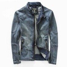 Джинсовая куртка для отдыха, мужские пальто, верхняя одежда, винтажные тонкие куртки, уличная джинсовая куртка для мужчин M-3XL