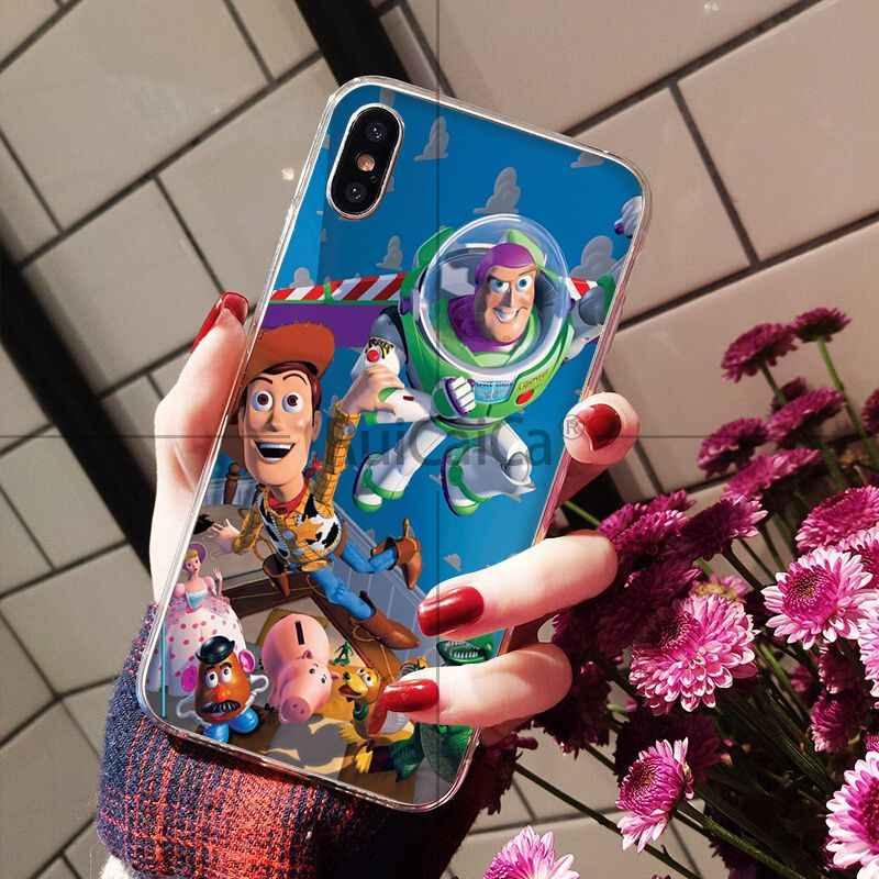 Ruicaica Toy Story4 Новинка чехол для телефона Fundas чехол для iPhone 5 5Sx 6 7 7 plus 8 8 Plus X XS MAX XR