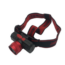 New Headlamp USB Rechargeable Head Light Zoomable T6 LED 18650 Headlight Torch Focusing Telescopic Headlight