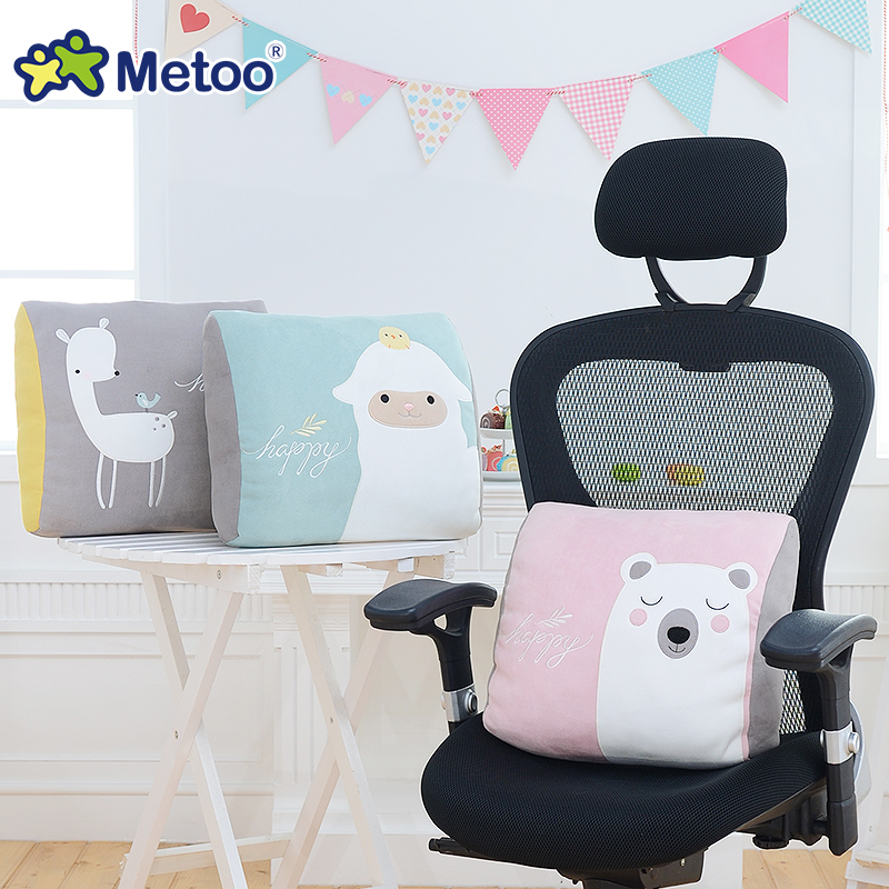 Candice guo plush toy stuffed doll metoo cartoon animal pattern chair soft rest waist pillow cushion children birthday gift 1pc candice guo plush toy stuffed doll cartoon big head dog puppy funny pillow cushion kid children creative birthday gift present