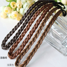 Fashionable wig and braid hair band elastic popular princess