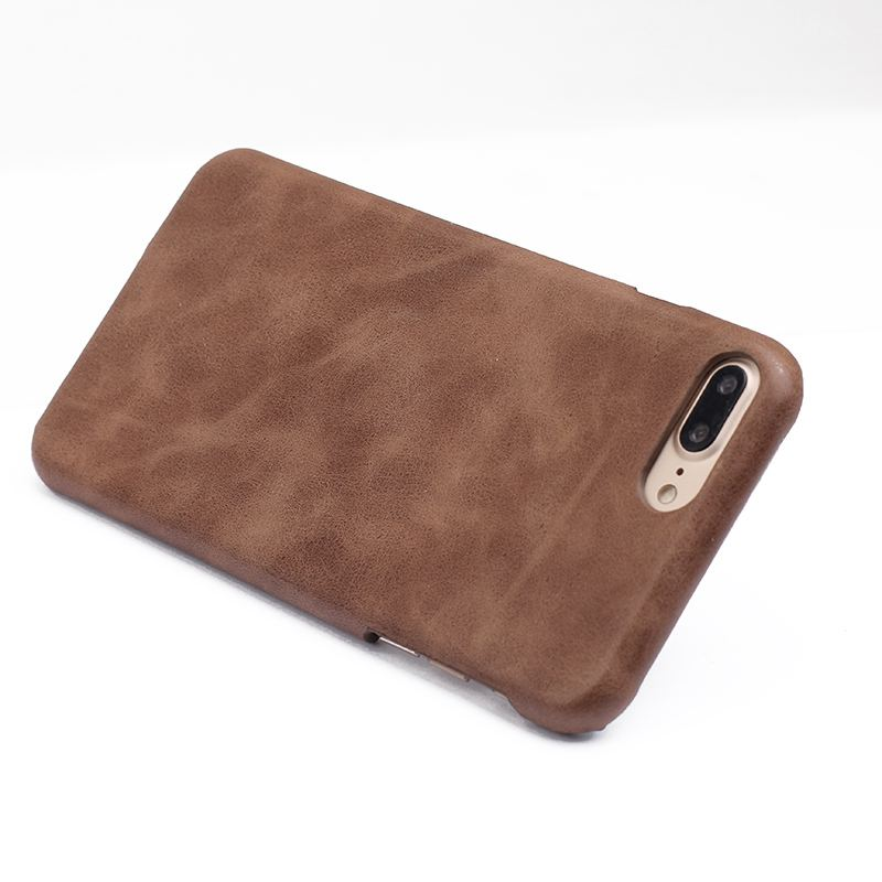 Funda de cuero genuino para Apple iPhone 7 7 Plus Funda trasera - Accesorios y repuestos para celulares - foto 4