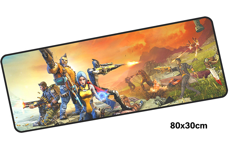 borderlands mousepad gamer 800x300X3MM gaming mouse pad large 2018 new notebook pc accessories laptop padmouse ergonomic mat