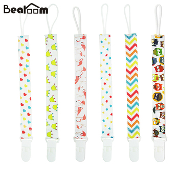 Baby Pacifier Clips Chain Bottles Feeding Dummy Holder Feed Toy Nibbler Attache Food Mam Pacifier Feeder Leash Nipple Strap Loop 1