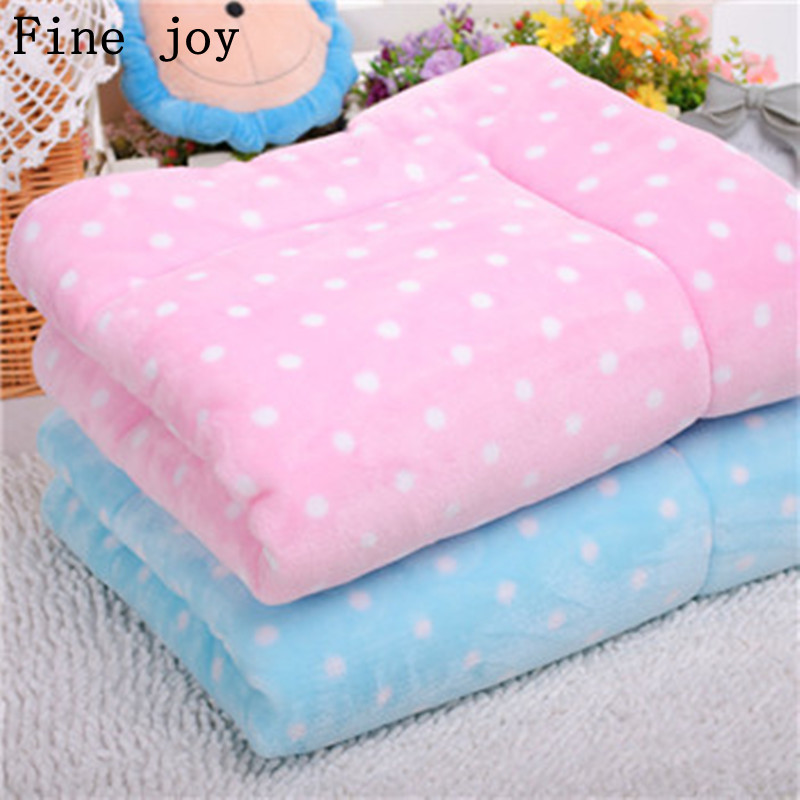 fine joy 1pcs Pet Dog Bed Blanket Cushion Mat Pad for Dog Cat Kennel Crate Cozy Soft Sleeping House