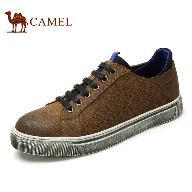 0276ee97a9916 Camel hombres 2016 nueva otoño de moda zapatos casuales populares zapatos  ocasionales de los hombres zapatos