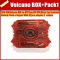 O Mais Novo Original Box Volcano Para Coolsand Unlock Flash & Repair Com 32 pcs adaptador 2 cabos + PACK1