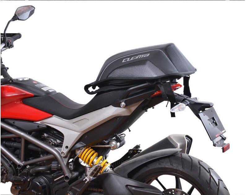 Рюкзак Для Езды На Мотоцикле для Yamaha Racing Team водонепроницаемый из углеродного волокна Жесткий корпус мотоциклетная сумка рюкзак для мотокросса - 4