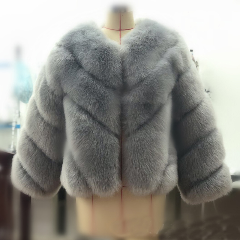 talla mujer abrigos peluda 15