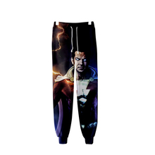 Shazam! Косплей теплые поп 3D модные высококачественные повседневные теплые брюки тонкие