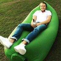 Folding Air Bag Sofa Portable Inflatable Sofa Lazy Outdoor Beach Easy Use Fashion Swim Sofa Bed
