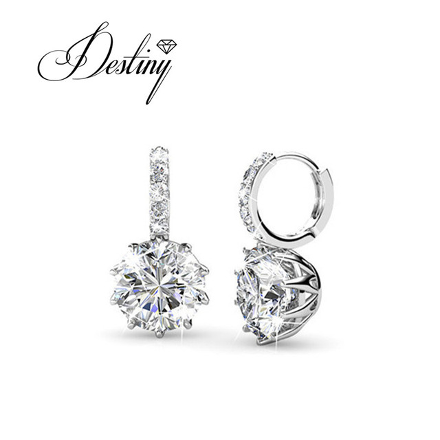 Destiny Jewellery Best selling products Classic earrings Embellished with  crystals from Swarovski DE0263 1ada2bfbf