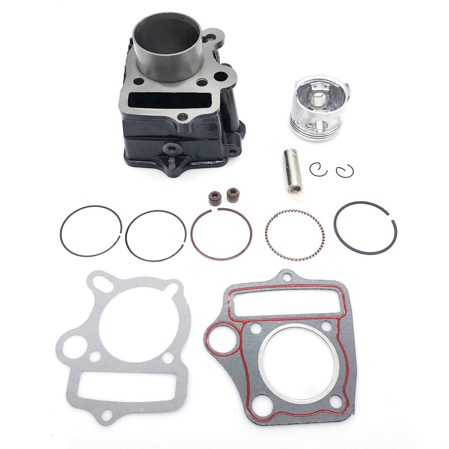 Cylinder Piston Gaskets Kit For HONDA ATC70 CT70 C70 TRX70 CRF70 CRF70F DAX70 ST70 XR70 70CC 72CM3-in Engines from Automobiles & Motorcycles