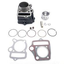 Cylinder Piston Gaskets Kit For HONDA ATC70 CT70 C70 TRX70 CRF70 CRF70F DAX70 ST70 XR70 70CC 72CM3
