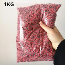 1KG Charms For Slime Supplies Kit Fluffy Fruit Slices Polymer DIY Clear Slime Accessories Slide Putty Clay Toys For Kids