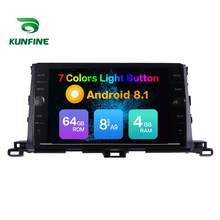 Octa Core 4GB RAM 64GB ROM Android 8 1 Car Navigation Player Deckless Car Stereo For