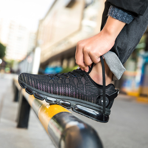 Image 2 - ONEMIX mode hommes dessus réfléchissants chaussures décontractées femmes Air course chaussures baskets légères marche formateurs