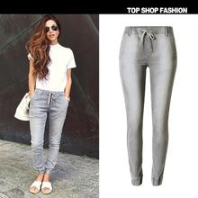 Low Waist Jeans Women  Jeans Feminin Cintura Skinny Slim Washed Jeans Pencil Pants Denim Leggings For Women