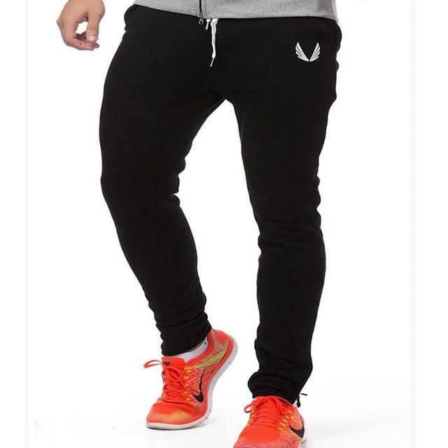 Moda 2016 Venta Caliente de Alta Calidad de Los Hombres Pantalones Hombre Harem Pant Pantalones Deportivos Para Hombre Joggers Fitness Pantalones M-XXL