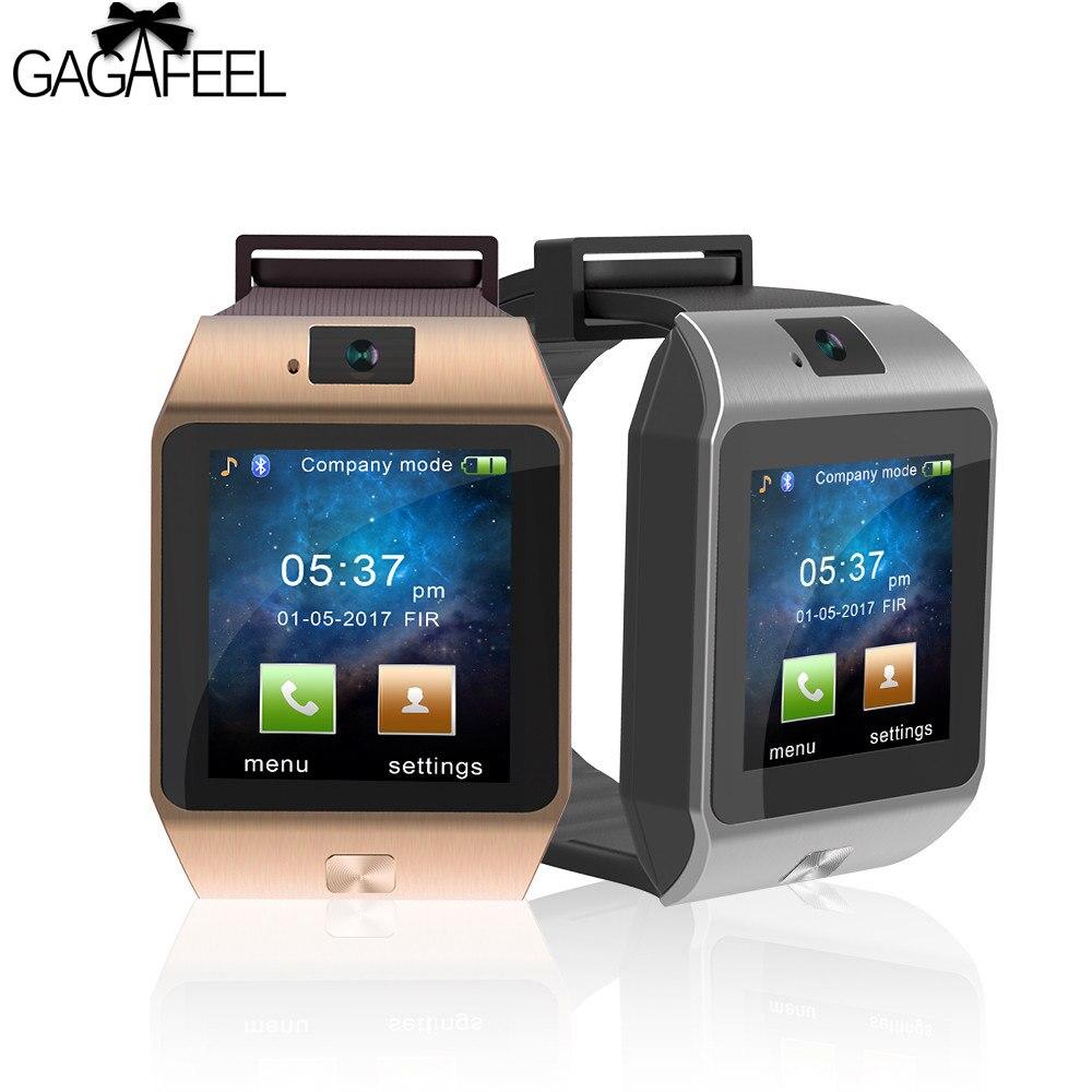 Gagafeel спортивные Смарт-часы для iPhone IOS Android удаленной камеры Смарт наручные часы женские и мужские Bluetooth Dialer умный Браслет