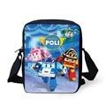 New Fashion Children Cartoon School Bags For Boys 3D Robocar Poli Doll Schoolbag Girls Students Book Bag Kids Mochila Infantil