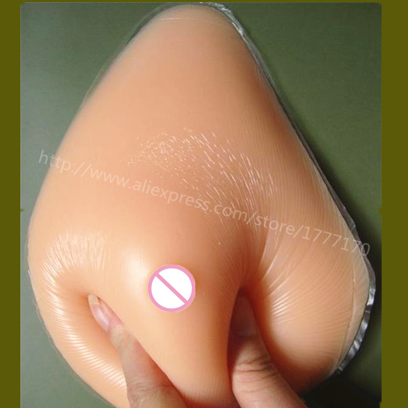 free shipping after mastectomy lady realistic breast silicone breast forms fake rubber boobs 900g H cup Right Side free shipping wholesale price realistic silicone breast forms fake breast crossdresser t or mastectomy with strap 600g pair