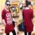 2016 Nuevas Mujeres de Las Señoras Primavera Otoño Carta Suelta de Manga Larga Ocasional tes de Las Tapas Camiseta 4 Colores Más El Tamaño M-3XL Moda Blusas