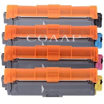 TN225 TN221 TN245 TN241 TN296 TN291 (4-Pack K C M Y) Toner Cartridge Compatible for Brother HL-3140 CW/3150 CDW/CDN/3170 CDW