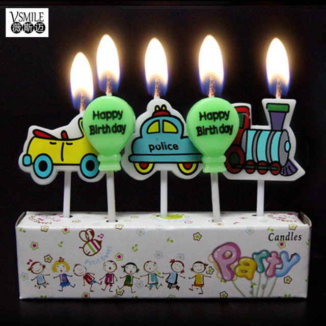 Train Balloons Police Car Bus Taxi Theme Party Supplies Cartoon Cupcake Toppers Pick Kid Birthday Jpg