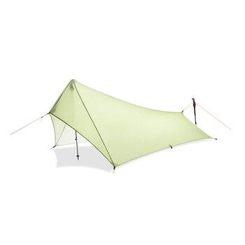 Ultra Light Rain Fly Tent Tarp, Waterproof 20d Silicone Coating Nylon Camping Shelter Canopy Rainfly, Lightweight tarp 2