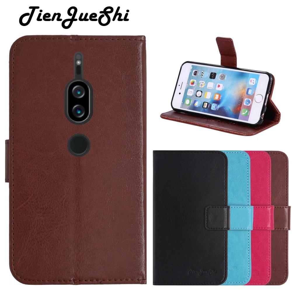 Чехол книжка TienJueShi, силиконовый защитный кожаный чехол бумажник Etui для Sony Xperia XZ2 Premium 5,8 дюйма Сумки для телефона      АлиЭкспресс