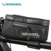 Roswheel Bicycle Waterproof Bag Front Frame Handlebar Bag Road Mountain Bike Top Tube Bag Cycling Pannier Bike Accessories