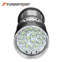 10000 Lumens Ultra Bright CREE T6 Compact LED Flashlight, Outdoor Portable MINI LED Torch Camping Lantern with 3 Light Gears