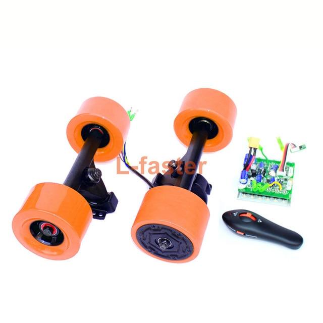 elektrisches skateboard nabenmotor rad kit mit fern billig l sung f r diy. Black Bedroom Furniture Sets. Home Design Ideas