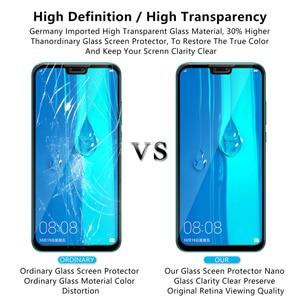 Image 3 - מזג זכוכית עבור Huawei Y5 Lite מלא כיסוי מגן זכוכית על Y 5 Y5 ראש Y5lite 5 לייט Y9 2018 2019 Y92019 מסך מגן