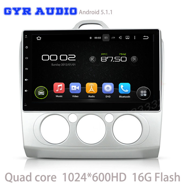 android 5 1 car radio gps player for ford focus 2007 2011 auto rh aliexpress com
